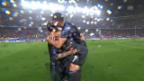 Video «Real zieht trotz rarer CL-Niederlage in den Final ein» abspielen