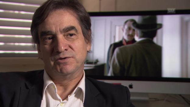 Video «Schauspieler Gilles Tschudi und wie er André Langie darstellt.» abspielen