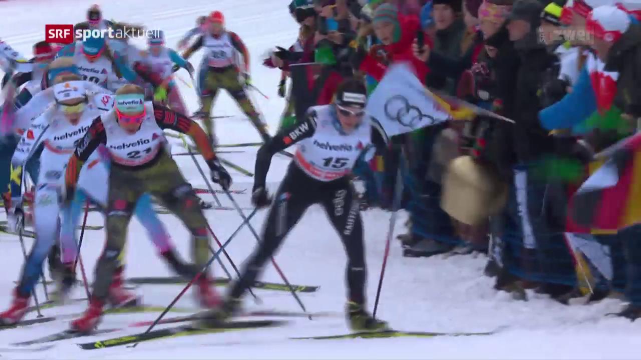 Von Siebenthal bekundet im Skiathlon Pech