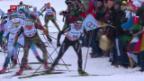 Video «Von Siebenthal bekundet im Skiathlon Pech» abspielen