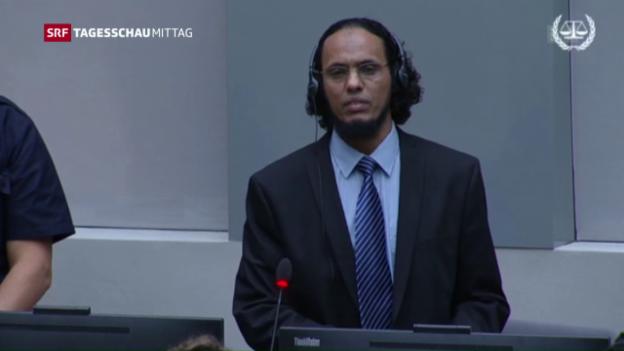 Video «Islamist wegen Zerstörung in Timbuktu vor Gericht» abspielen