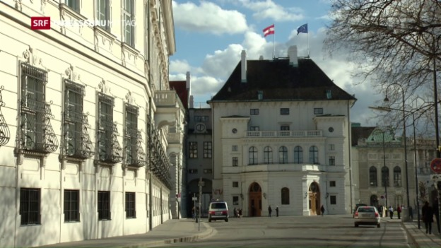 Video «Österreich wartet auf das Endergebnis» abspielen