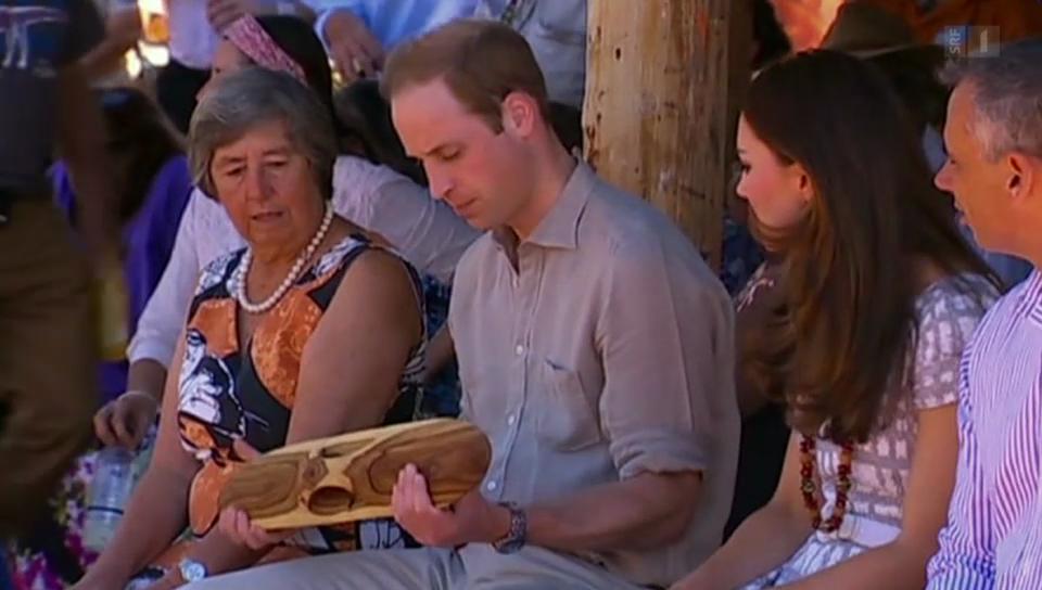Kate und William im Geschenkerausch