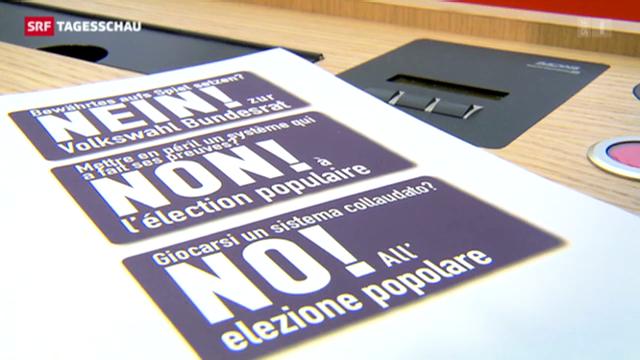 Nein zur Volkwahl