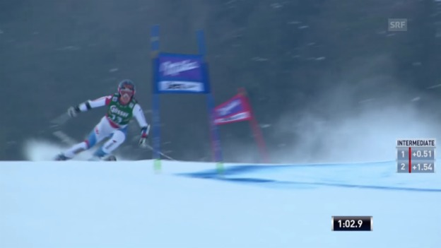 Video «Ski: Riesenslalom Frauen in Lienz («sportlive», 28.12.2013)» abspielen