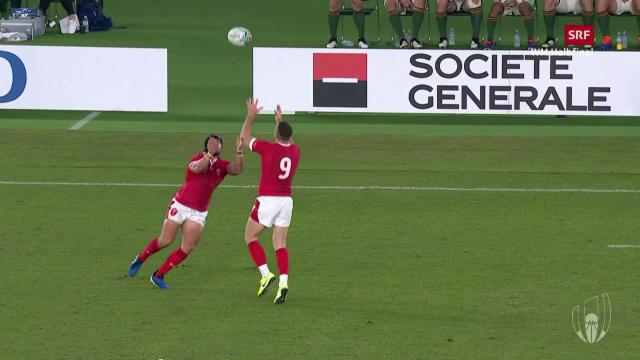 Rugby-WM im Live-Stream: Wales gegen Südafrika live im Internet sehen
