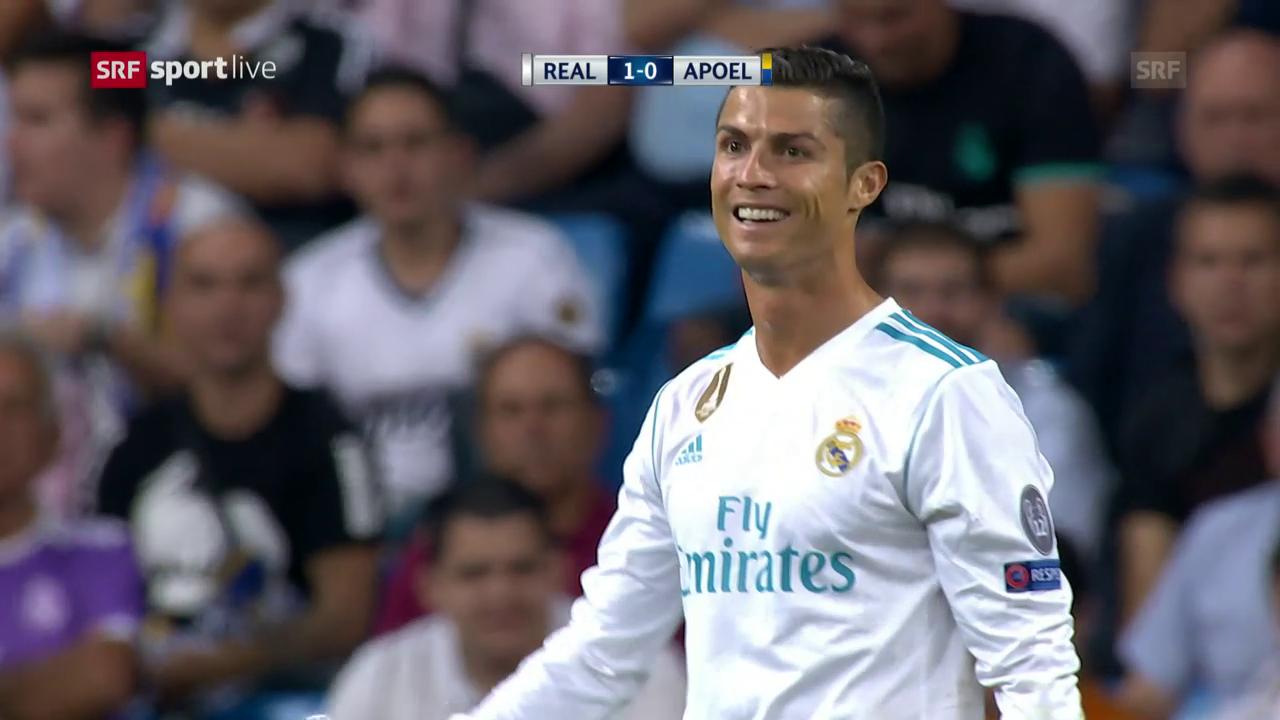 Ronaldo trifft gleich doppelt