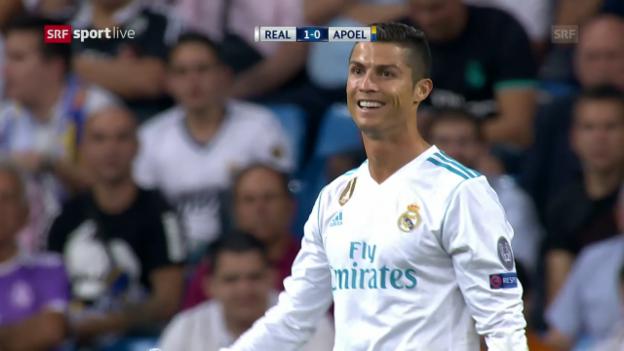 Video «Ronaldo trifft gleich doppelt» abspielen