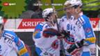 Video «Eishockey: Kloten - Fribourg» abspielen