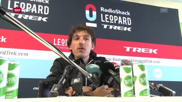 Rad: Cancellara vor der Flandern-Rundfahrt («sportaktuell»)