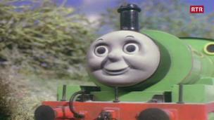 Laschar ir video «La locomotiva a vapur e ses amis - 17»