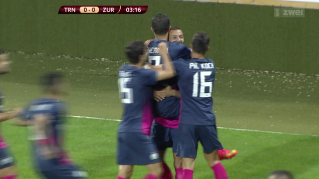 Video «Fussball: EL-Playoffs, Trnava - FC Zürich» abspielen