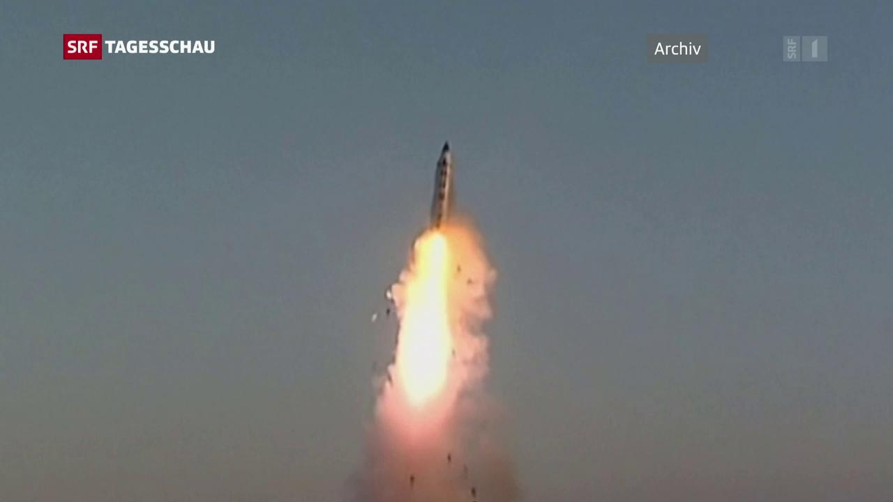 Misslungener Raketenabschuss