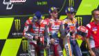 Video «Dovizioso und Lorenzo sorgen für Ducati-Doppelsieg» abspielen
