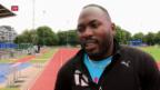 Video «Alex Wilson trainiert in London» abspielen