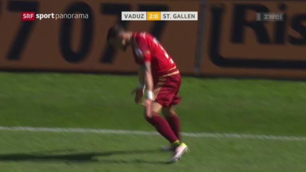 Video «Vaduz überrollt St. Gallen» abspielen