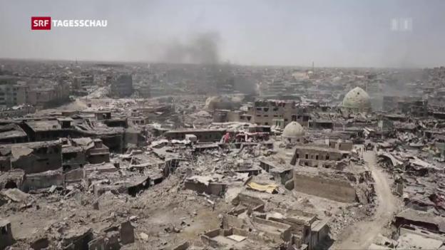 Video «IS aus Mossul vertrieben» abspielen