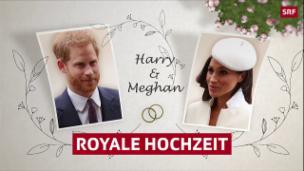 Video «Hochzeitsweg von Harry und Meghan» abspielen