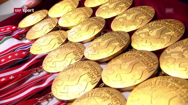 Nigglis Anekdoten zu den 23 Goldmedaillen («sportpanorama»)