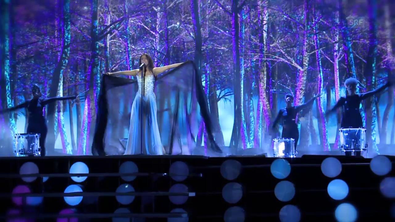 Mélanies erstes Dress-Rehearsal auf der ESC-Bühne