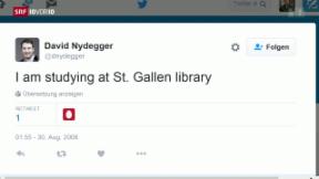 Video «FOKUS: Ist das der erste Schweizer Tweet?» abspielen