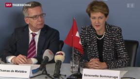 Video ««Die Schweiz muss nicht unmittelbar handeln»» abspielen
