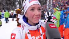 Video «S.Gasparin: «Ein mega schönes Rennen»» abspielen