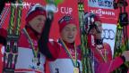 Video «Norweger dominieren Langlauf-Sprint in Davos» abspielen