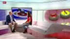 Video «Curling: Studiogast Binia Feltscher, Gespräch Teil 1» abspielen