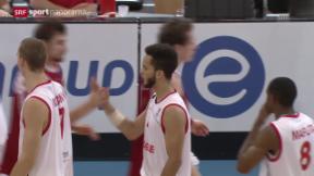 Video «Basketball: Euro 2015 Qualifikation, Schweiz - Russland» abspielen