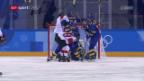 Video «Frauen-Eishockey-Nati bodigt auch Schweden» abspielen