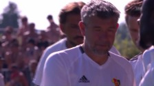 Video «Basel bei Rapperswil-Jona mit Problemen» abspielen
