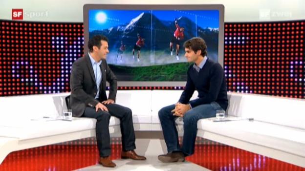 Video «Studiogast Roger Federer, Teil 2» abspielen
