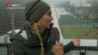 Video SRF-Moderatorin Fetscherin zeigt die Box von Eurosport abspielen.