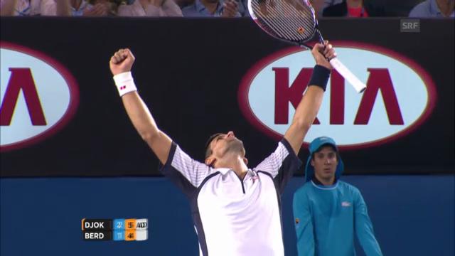 Highlights Djokovic - Berdych («sportlive»)