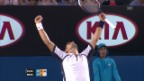 Video «Highlights Djokovic - Berdych («sportlive»)» abspielen