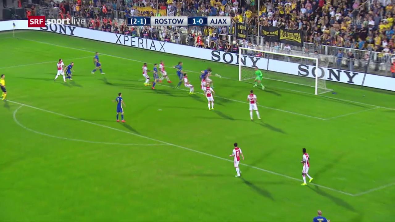 Die Tore von Rostow - Ajax