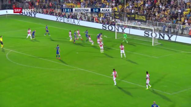 Video «Die Tore von Rostow - Ajax» abspielen