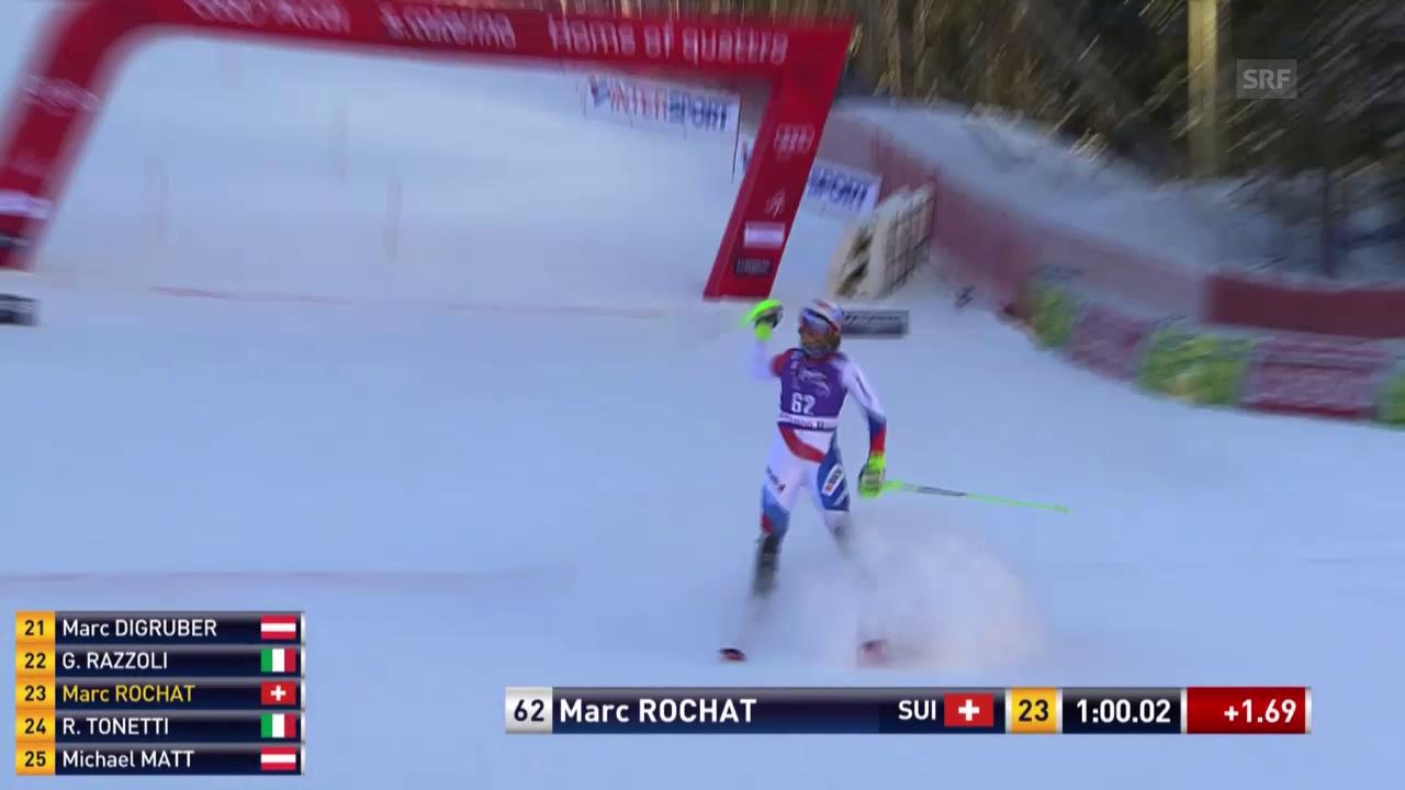 So qualifizierte sich Marc Rochat für den 2. Lauf