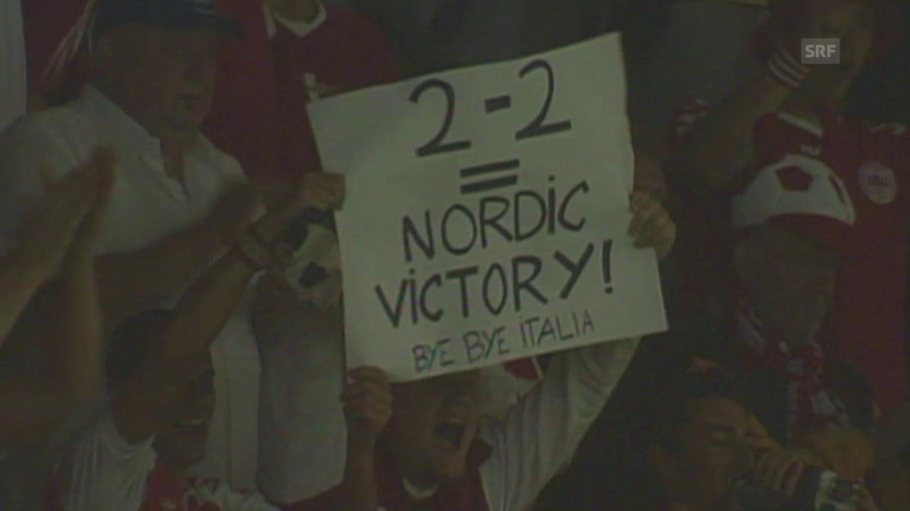 Fussball: EURO-Quali, vor dem Duell Schweden - Dänemark
