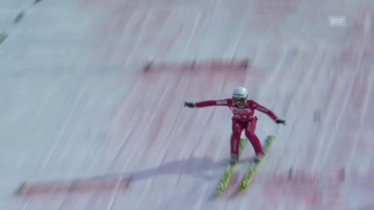Skispringen: Die beiden Ammann-Sprünge in Klingenthal
