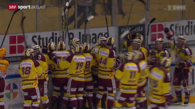 Video «Genf-Servette kann gegen Lugano ausgleichen» abspielen