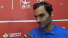 Video «Federer: «Bin meiner Linie treu geblieben»» abspielen