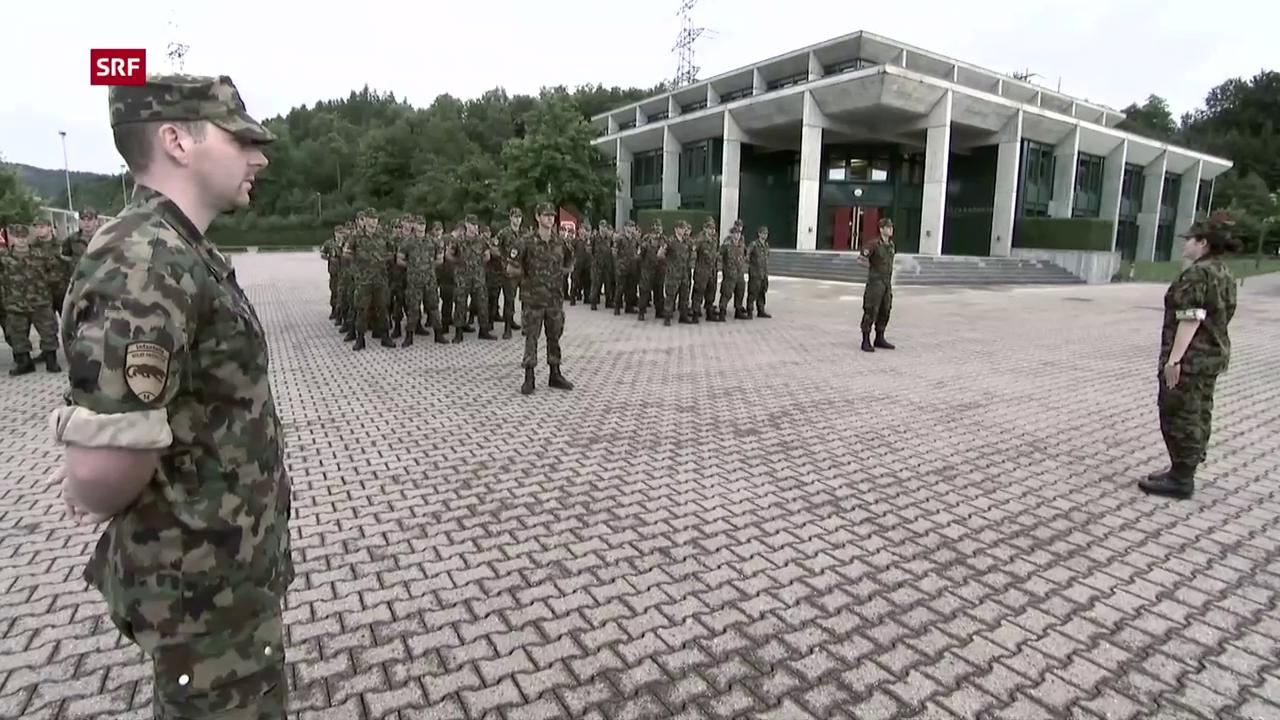 Absenzen wegen Militärdienst - Schweizer Armee neuerdings Karriere ...