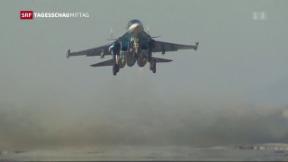 Video «Kampfjet-Abschuss mit Folgen» abspielen
