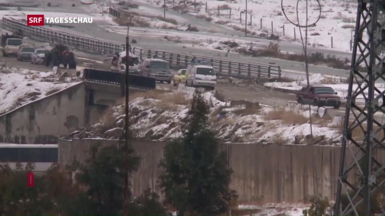 Evakuierung aus Aleppo