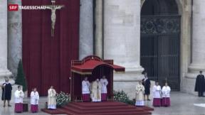 Video «Auftakt zum Heiligen Jahr» abspielen
