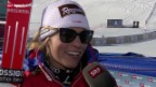 Video «Ski alpin: St.-Moritz-Siegerin Lara Gut im Interview» abspielen