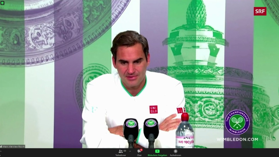 Federer: «Ich brauche Zeit, um alles zu analysieren»