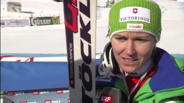 Video «Ski: Interview mit Fabienne Suter» abspielen